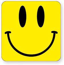 Smiley FACE - Happy Face - Emoji - Coaster - Shaw T-Shirts® - Square  Single: Amazon.co.uk: Kitchen & Home